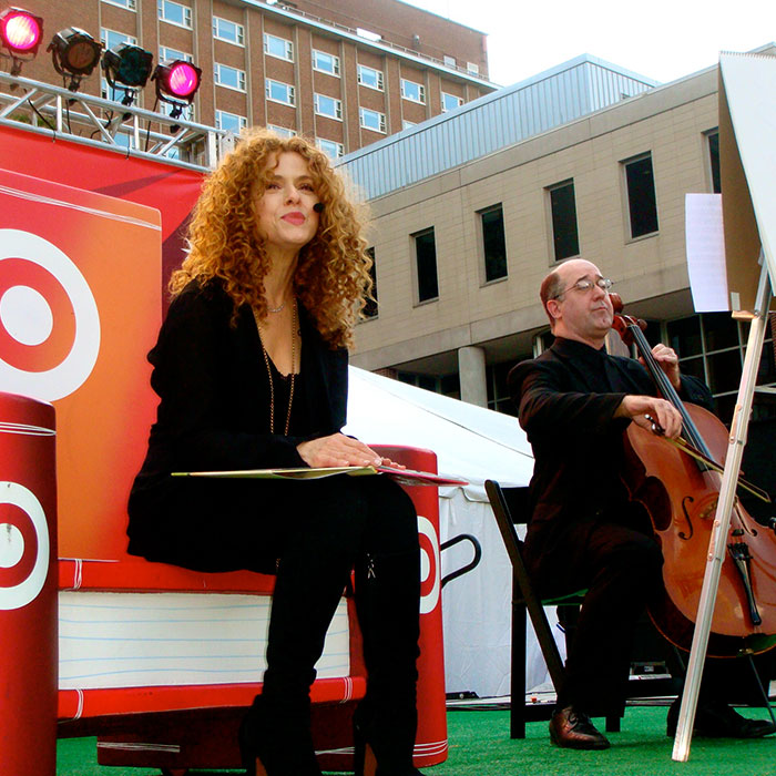 Bernadette Peters  – New York Times Festival​ of Books – New York, NY