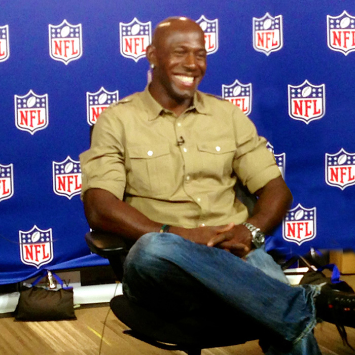 Donald Driver – NFL Studios – New York, NY